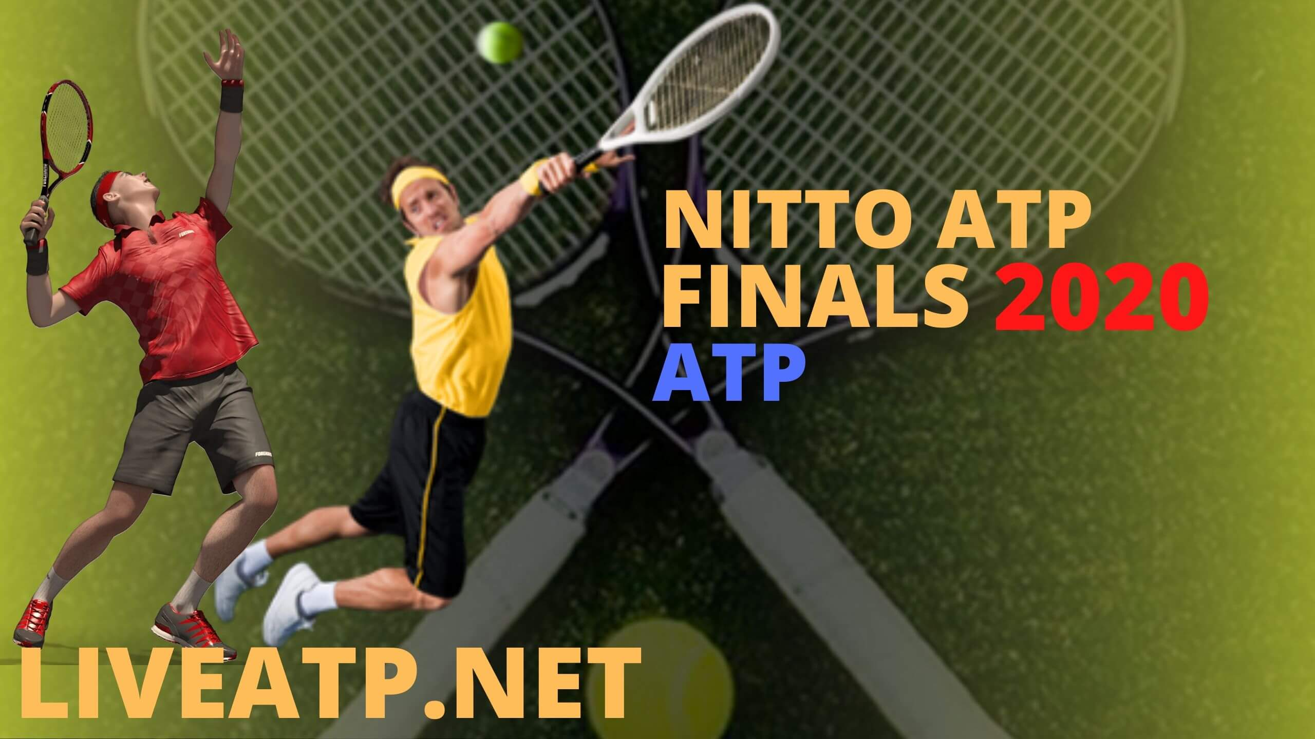 Nitto ATP Finals Live Stream 2020 |  Day 1
