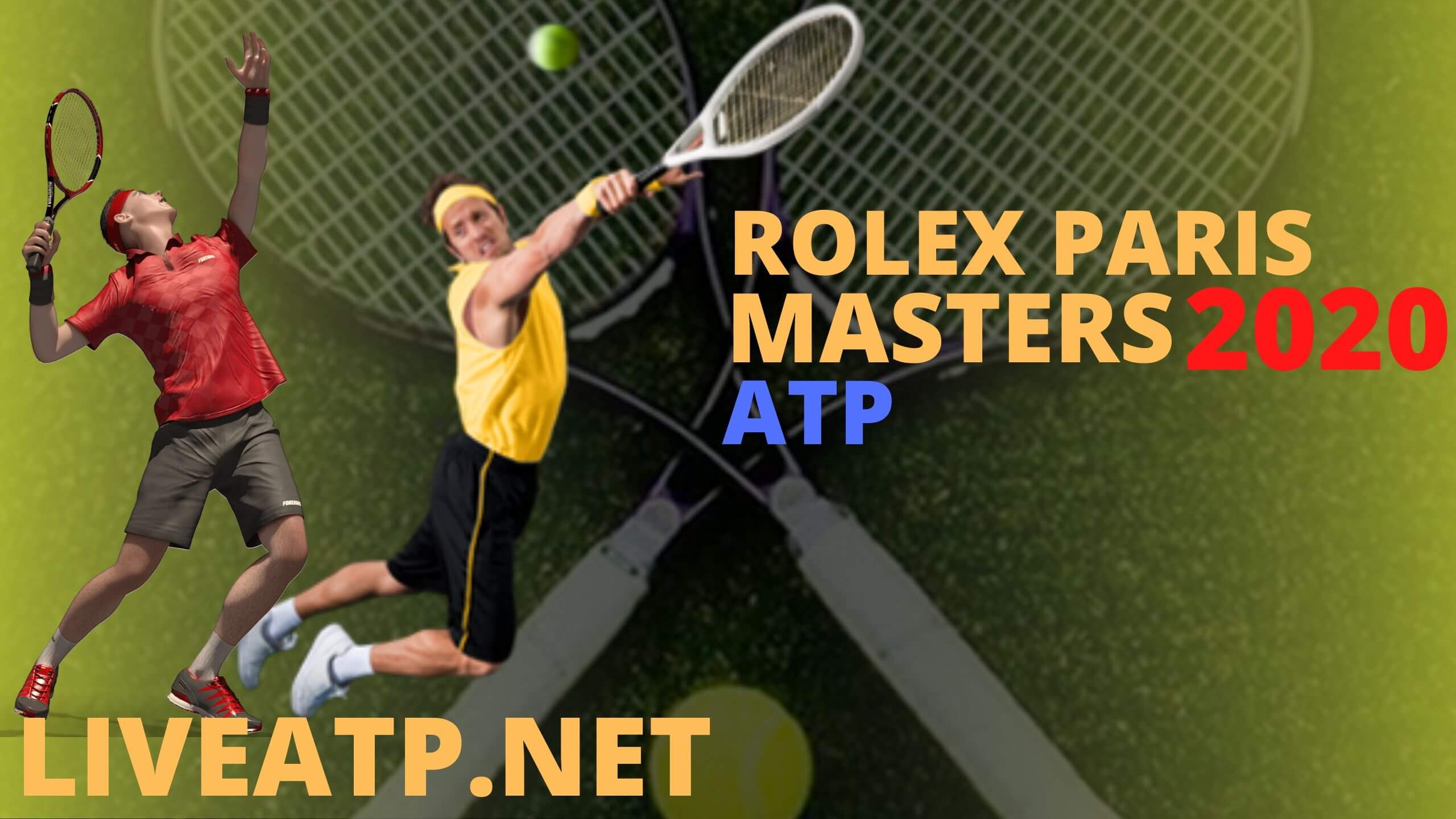 Rolex Paris Masters Live Stream 2020 | Day 6