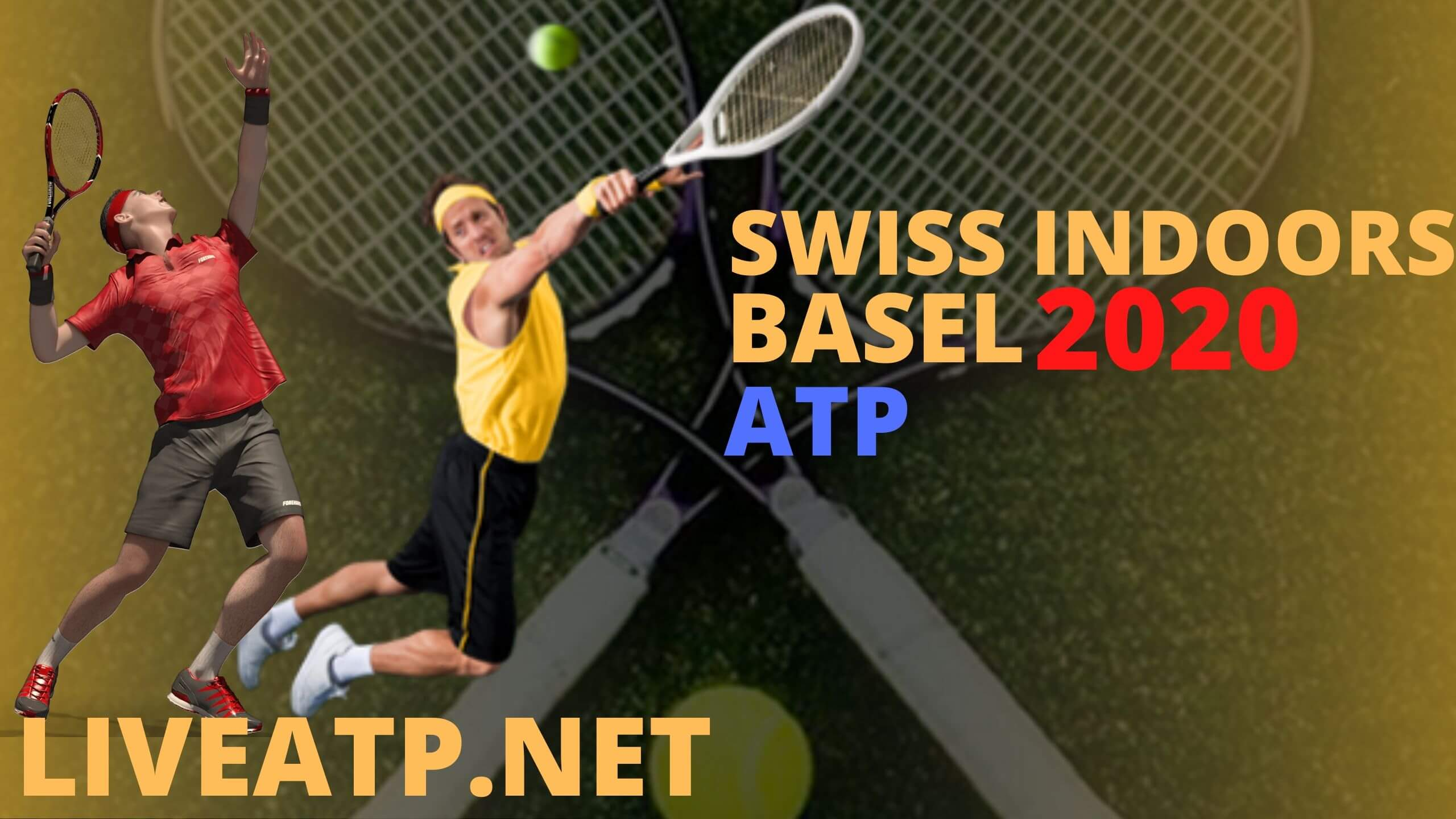 Swiss Indoors Basel Live Stream 2020 | Day 1