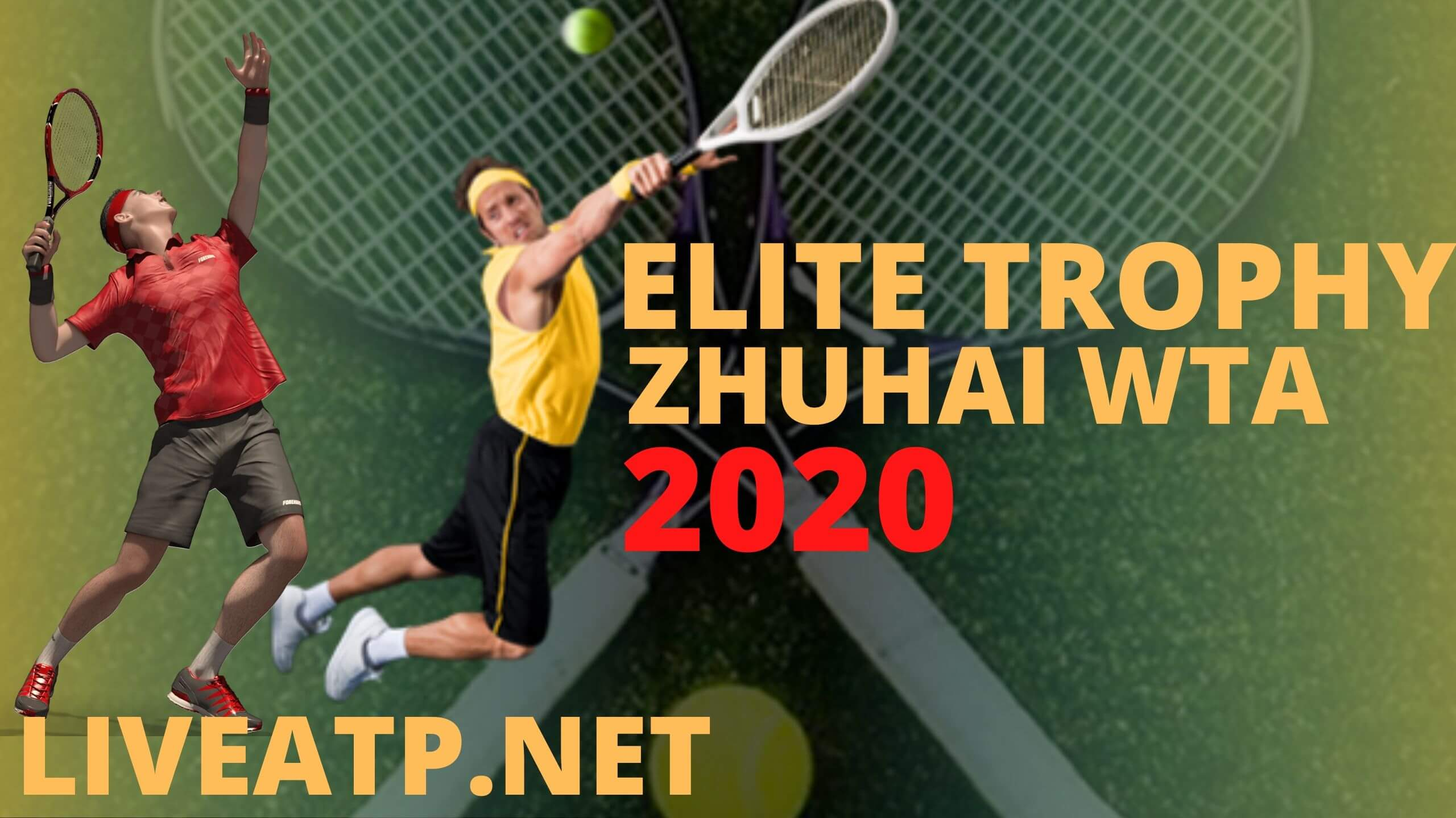 WTA Elite Trophy Zhuhai Live Stream 2020 | Day 1