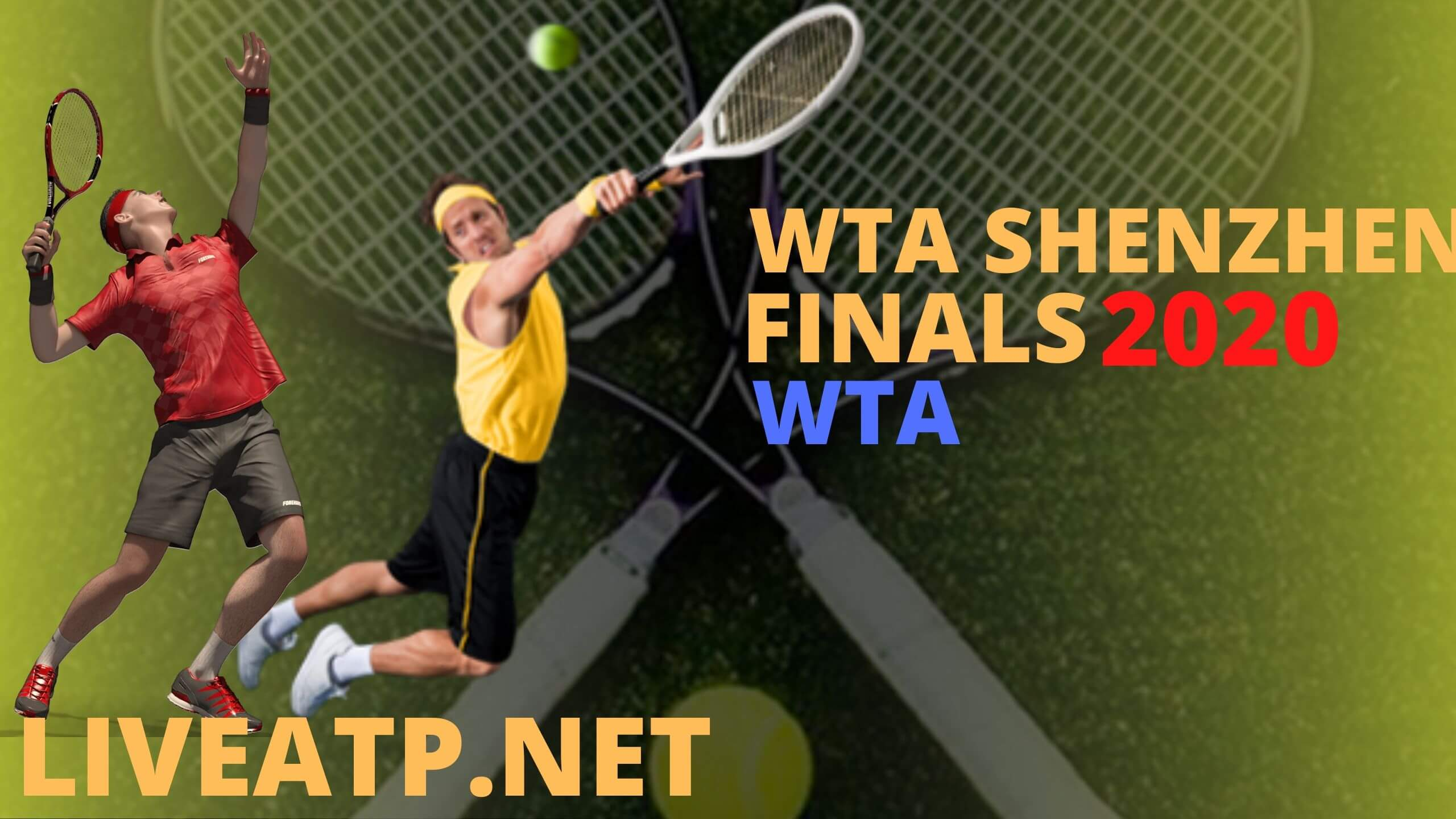 WTA Shenzhen FINALS Live Stream 2020 | Semi Final
