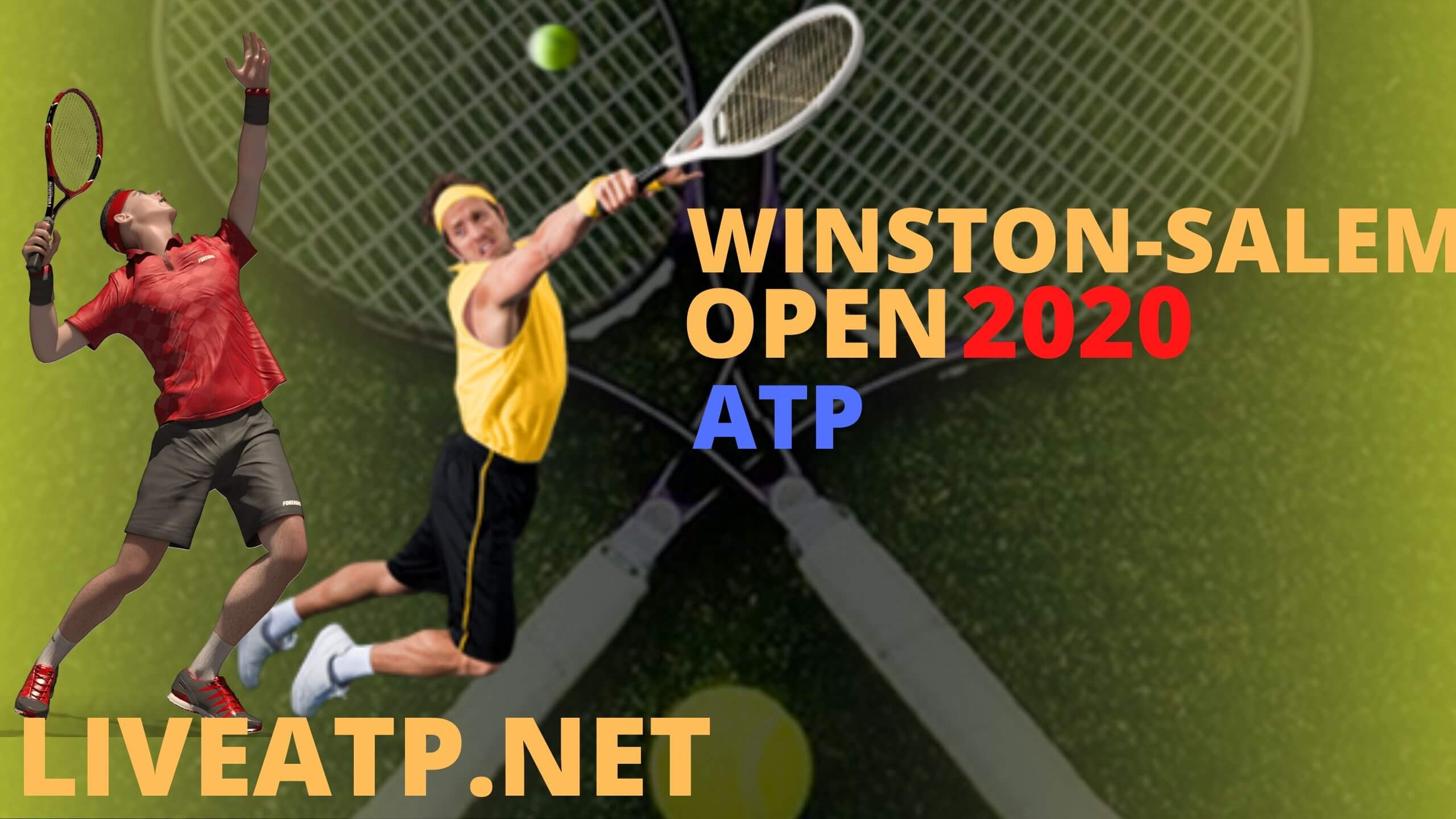 Winston Salem Open Live Stream 2020 | Day 1