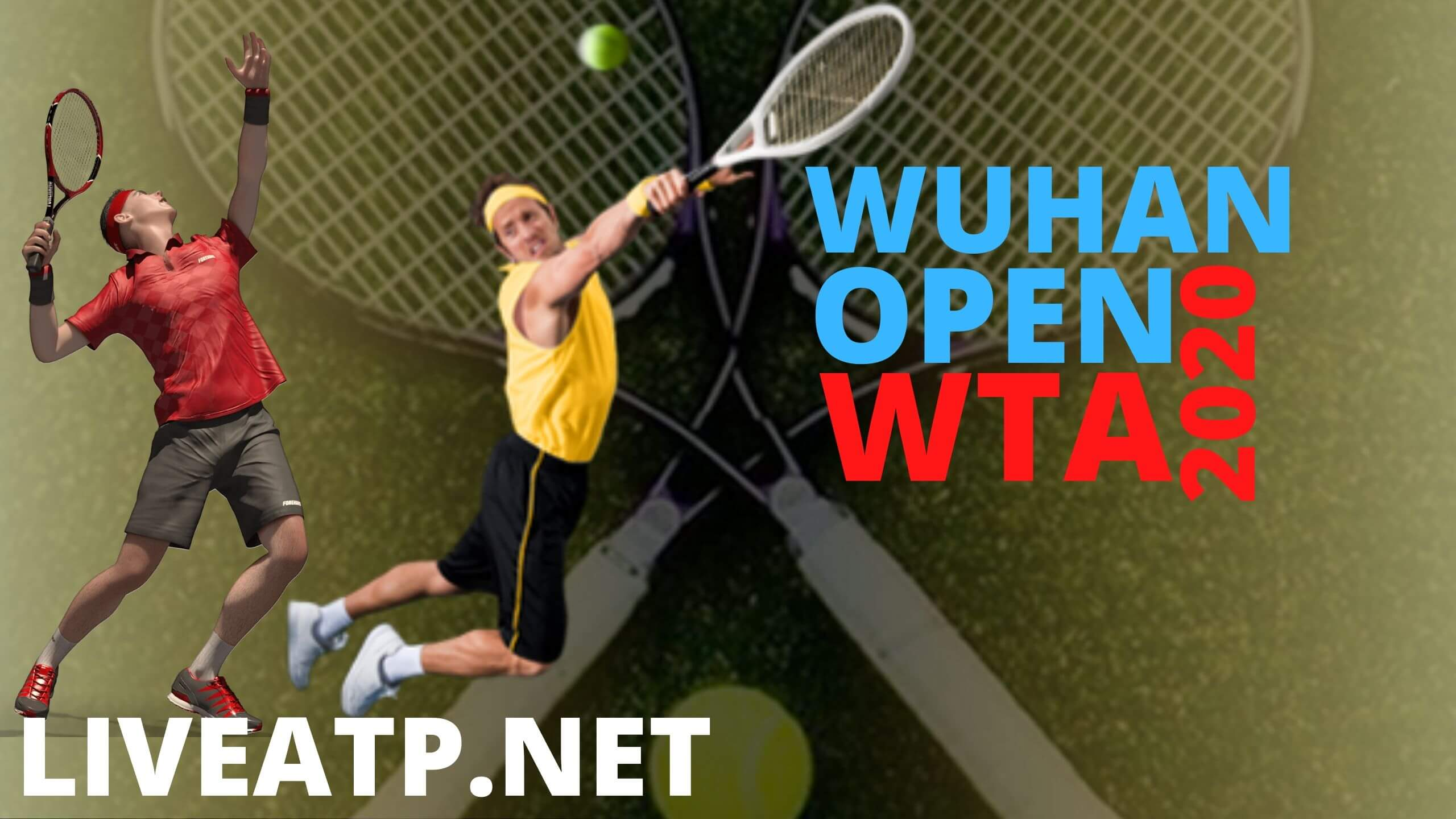 Wuhan Open Live Stream 2020 | Semi Final