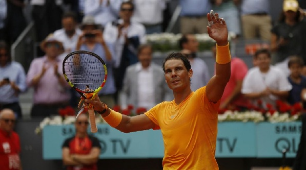 In the wake of thrashing Monfils, Nadal is just 2 sets from history in Madrid