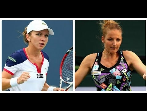 Madrid Open 2018 Pliskova vs Halep Highlights