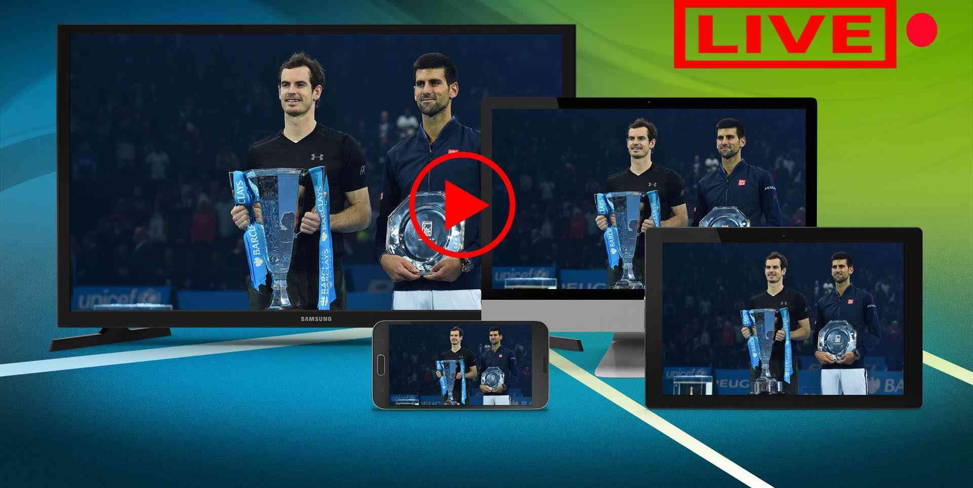 Live ATP  Online slider